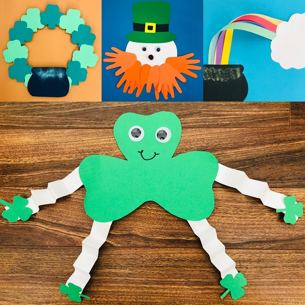 6 Easy St Patrick S Day Crafts For Kids Awesomelycrafty
