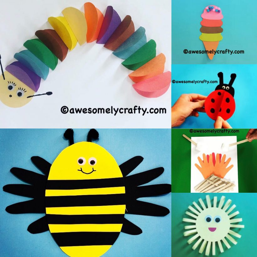 10 Easy Summer Crafts To Make With Young Children
